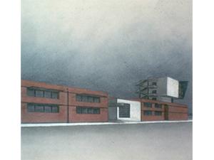 Primo lotto del nuovo Istituto d'arte