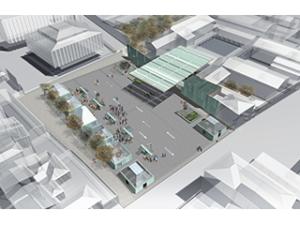 Nuovo ingresso Plesso universitario di Santa Verdiana e sistemazione di piazza Ghiberti