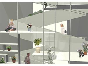 Parco tematico della residenza: Case Minime per una società evoluta
