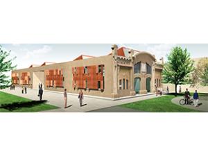 Ristrutturazione palazzina Coppedè ex-area industriale Breda