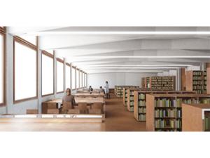Aula B per la Biblioteca Umanistica di piazza Brunelleschi